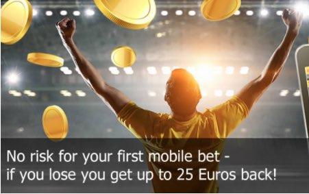 Pak je risk free mobiele bonus bij Interwetten