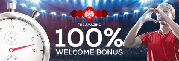 Neem de Tipbet Welkomst bonus van 100% tot € 100