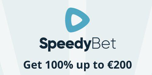 Pak tot € 200 welkomstbonus bij Speedybet
