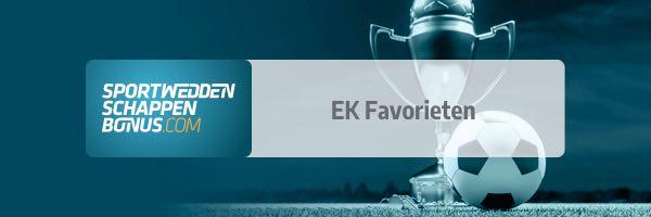 Wie zijn de EK favorieten?
