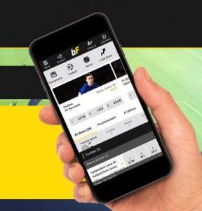 BetFIRST app: mobiel bij betfirst