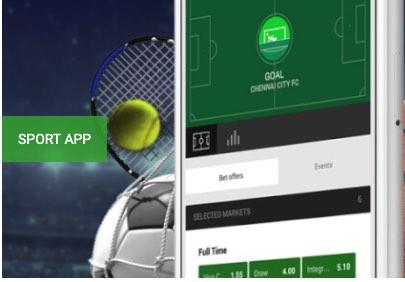 Zo ziet de Unibet sports app er uit!