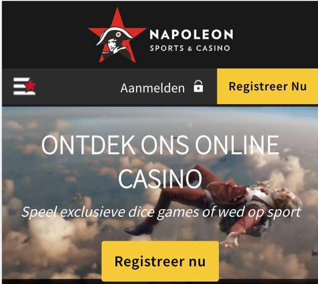 Napoleon Games mobiel