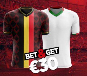 Zet in op Belgium to score en krijg 30 euro bij Ladbrokes tegen Wit Rusland!