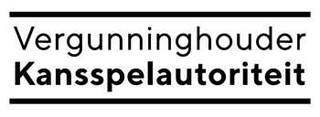 Het logo van de kansspelautoriteit in Nederland