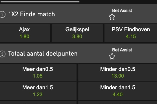 Wie wint de Nederlandse Supercup? Ajax of PSV?