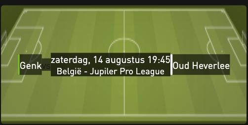 Genk - Oud heverlee Jupiler Liga